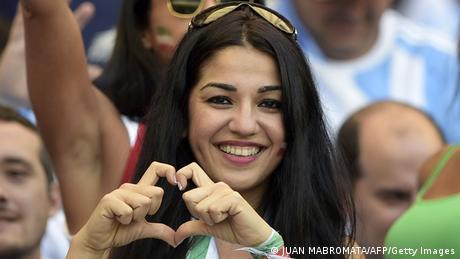 WM 2014 Gruppe F 2. Spieltag Argentinien Iran