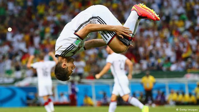 WM 2014 Gruppe G 2. Spieltag Deutschland Ghana