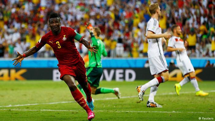Klose Bewahrt Low Elf Vor Pleite Gegen Ghana Sport Dw