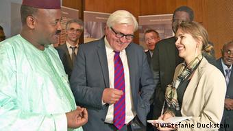 internationales Strategietreffen zum Erhalt der Timbuktu-Handschriften (DW/Stefanie Duckstein)