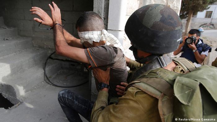 Israelische Armee im Westjordanland 21.06.2014