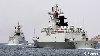 RIMPAC 2014 China Zerstörer Haikou