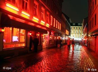 St. Pauli, la zona roja en Hamburgo.