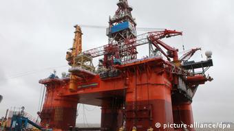Ölbohrinsel China Südchinesisches Meer