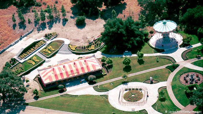 Jacksons Neverland seen from above