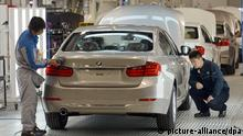 Fertigungswerk der BMW-Brilliance Automotive in Shenyang-Tiexi