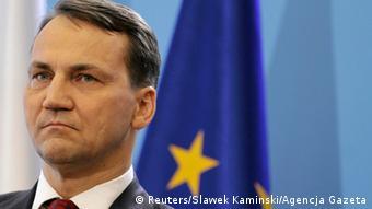 Radoslaw Sikorski Außenminister Polens 22.06.2014