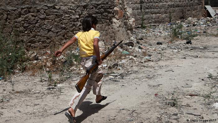 Syrien Kindersoldaten