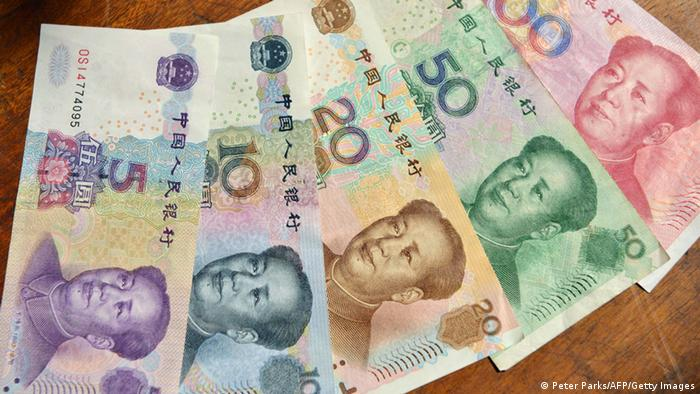 China Yuan Währung Geld (Peter Parks/AFP/Getty Images)