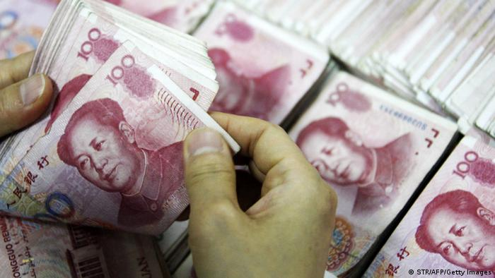 China Yuan Währung Geld (STR/AFP/Getty Images)