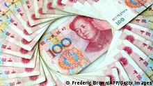 China Yuan Währung Geld (Frederic Brown/AFP/Getty Images)