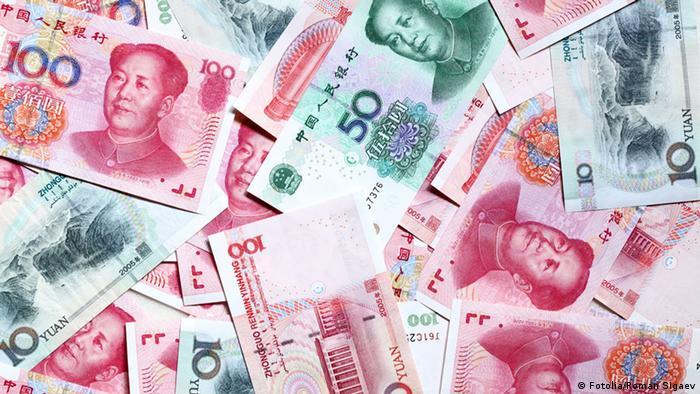 China Yuan Währung Geld