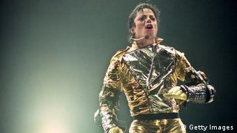 Michael Jackson performing on stage Copyright: Phil Walter/Getty Images