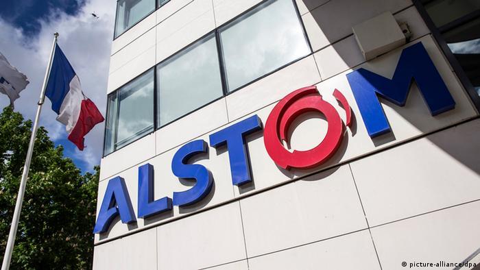 Logo Alstom Frankreich (picture-alliance/dpa)