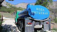 Wasser auf der Krim