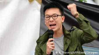Taiwan China Studentenprotest Lin Fei-fan (A. Dennis/AFP/Getty Images)