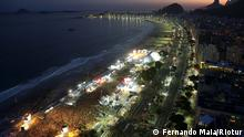 Beschreibung: FIFA Fan Fest an der Copacabana in Rio de Janeiro während der Fußball-WM 2014 in Brasilien. Foto: Fernando Maia/Riotur
