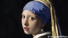 Niederlande Malerei Das Mädchen mit dem Perlenohrring von Johannes Vermeer