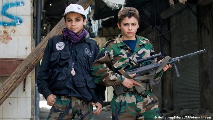 Syrien Kindersoldaten Archiv 2013 Aleppo