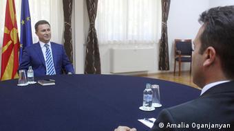 Politischer Dialog in Mazedonien