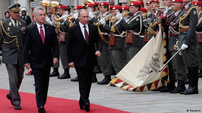 Wien Staatsbesuch Putin 24.06.2014