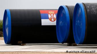 South Stream Pipeline Serbien Gazprom 13.06.2014