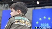 Konzert Wir wählen Europa in Tiflis Georgien
