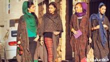 Iran Hejab Frauen Kleidung Kleiderordnung Straße Öffentlichkeit