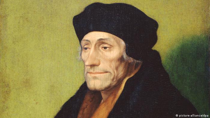 Erasmus von Rotterdam Gemälde