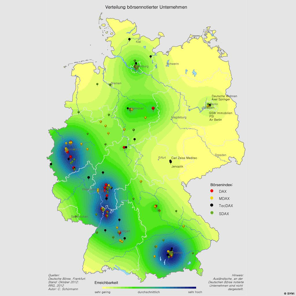 Show Map Of Germany.Mapping Differences In Two German Economies Germany News And In