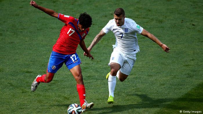 Fußball WM 2014 England Costa Rica