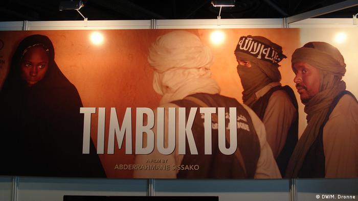 Timbuktu Film Plakat Film von Abderrahmane Sissako (DW/M. Dronne)