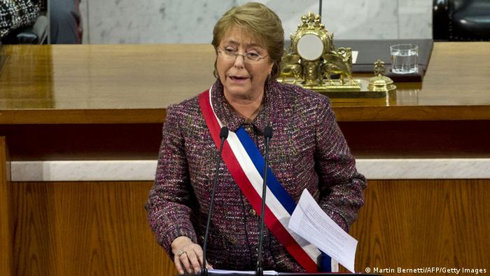 CHILE: Bachelet,