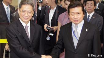Zhang Zhijun und Chang Hsien-Yao 25.06.2014 Taiwan
