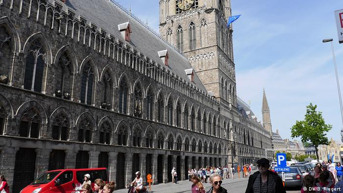 Cloth hall in Ypres