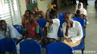 Mosambik Schwierigkeiten mit HIV-Test Patienten Cabo Delgado