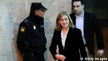 Prinzessin Cristina aus Spanien Archiv 08.02.2014