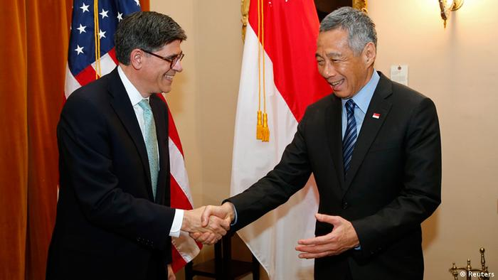 Lee Hsien Loong in Washington