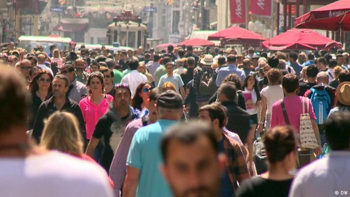 Istanbul Fußgängerzone