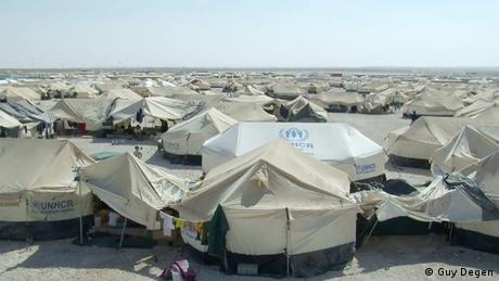 Zaatari Flüchtlingslager in Jordanien