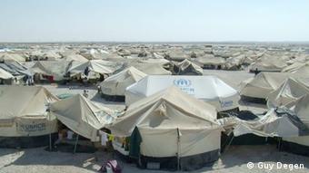 Das Flüchtlingslager Zaatari in Jordanien (Foto: Guy Degen)