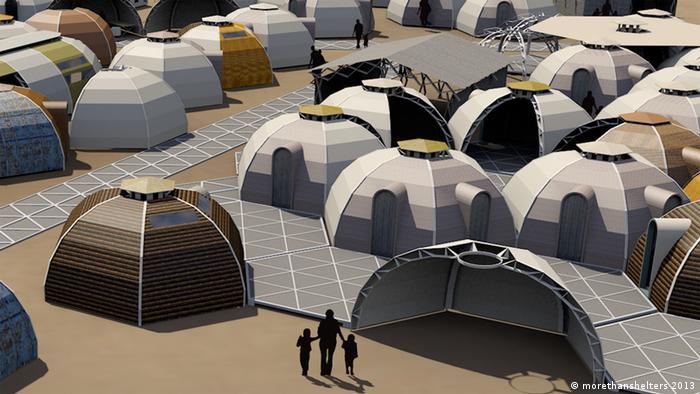 Digital impression of the DOMO tent design by Daniel Kerber