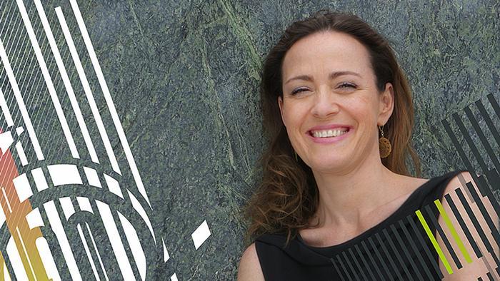 06.2014 DW Sarah's Music Moderatorin Sarah Willis