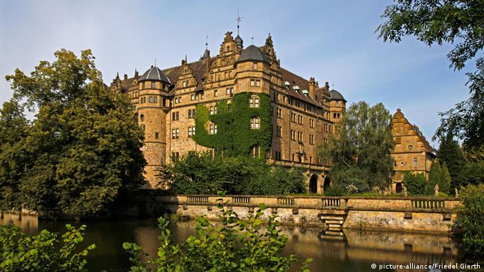 Fachada do castelo de Neuenstein