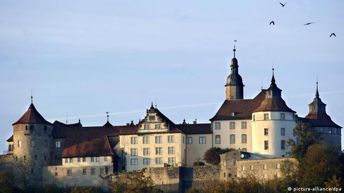 Vista externa do castelo de Langenburg