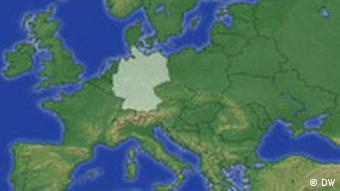 نقشه - آلمان در میانهی اروپا