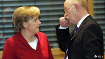 Koalitionsverhandlungen - Merkel Struck