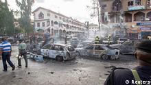 ATTENTION EDITORS - REUTERS PICTURE HIGHLIGHT TRANSMITTED BY 0510 GMT ON JUNE 26, 2014 NIG15 Burnt-out cars are seen at the scene of a blast in Abuja. REUTERS/Afolabi Sotunde REUTERS NEWS PICTURES HAS NOW MADE IT EASIER TO FIND THE BEST PHOTOS FROM THE MOST IMPORTANT STORIES AND TOP STANDALONES EACH DAY. Search for TPX in the IPTC Supplemental Category field or IMAGES OF THE DAY in the Caption field and you will find a selection of 80-100 of our daily Top Pictures. REUTERS NEWS PICTURES. TEMPLATE OUT