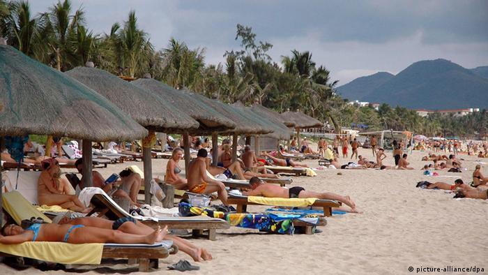 China Strand von Hainan