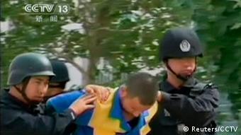 China Uiguren vor Execution 16.06.2014